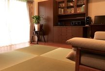 Contemporary Japanese style room #tatami