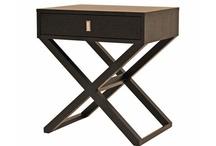Modern Designer Olsen Wenge Oak Bedside Table