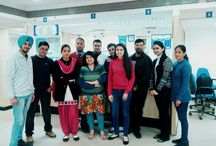 An interactive session with HDFC Team / Students of MBA 4th semester of GNA institute of Management & Technology, Phagwara got an opportunity to visit & meet the Bank officials of HDFC Bank Phagwara Branch. During the Visit Mr.Vishal (Branch Head) HDFC Bank gave an overview of all the Retail Products and Banking Operations (Backend & Frontend).Students got an  in-depth knowledge about the Bank operations.