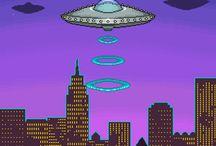 Vaporwave / Seapunk | Simpsonwave | Aesthetic | Pictochat  NO PIN LIMITS