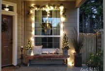 Front Porch Ideas / Decorating my frong porch all year round
