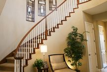 Staircase Lighting / A staircase in the home can be a focal point in a home. The right lighting can add elegance, style and safety.