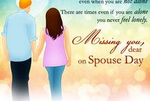 Spouse Day Card