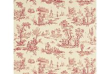 Chimney breast wallpaper