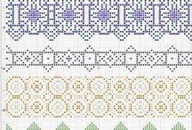 Cross Stitch Embroidery Needlepoint / by Vintage Patterns Dazespast