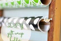 Organizing-Gift Wrap Storage / by Jenifer Richison
