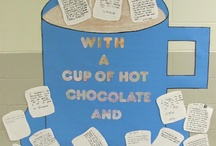 Bulletin Boards & Library Displays / ideas & inspiration for bulletin boards and book displays