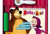 Giochi e giocattoli di Masha e Orso / Tutti i giochi e i giocattoli dell'amatissima Masha e il suo simpatico amico Orso