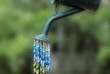 garden and beads