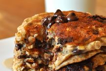Chocolate chip Oatmel Cookey pancakes