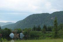 Parcs du Québec / Mont-Tremblant - Mont Orford - Mauricie - Jacques-Cartier - Forillon -  Aiguebelle -