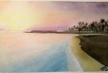 Watercolour Seascapes