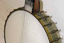 Banjos / Vintage instruments
