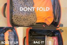 organize, packaging and travel tips