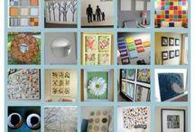 DIY Wall Art / DIY wall art you can make your self, DIY wall art craft and art projects. Wall art printables Free