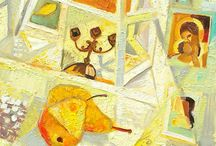 Oil painting / Art Oil painting Vladislav Novikov