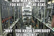 Gun irony
