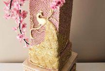 Торты с цветами / Торты, где цветы являются основным элементом декора