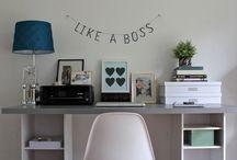 Homeoffice & Blogzimmer