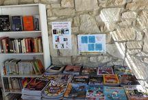 Llegim a l'estiu! / Les biblioteques s'obren a l'estiu! Bibliopiscines, Biblioplatges... llegim a l'aire lliure!