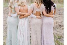 Bride & Bridesmaid Dress ideas