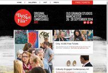 2014 Show Creative Design / The all-new creative design for Buy Art Fair & The Manchester Contemporary 2014