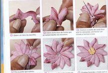 flowers applique