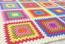 cubrecamas crochet