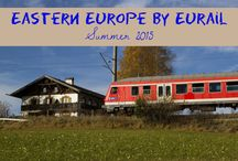 Eastern Europe by Eurail! / Train travel to new and exciting Eastern European destinations! / by Corinne Vail