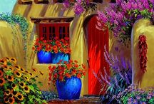 festmények,rajzok