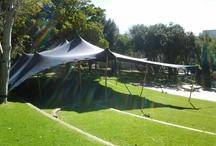 Black Bedouin tent