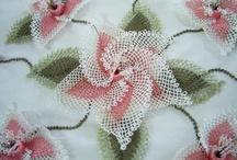 Needle work laces