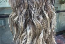 Reverse balayage to blend roots