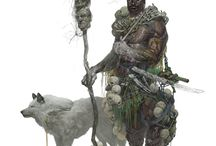 Druids and Shamans