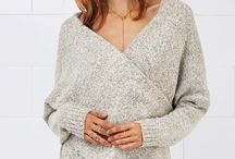 Chunky Sweater Knits / Stay warm and fashionable with knits that look like you made them!