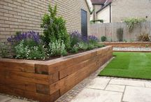 Garden - raised plant bed / split level garden ideas