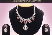 Necklaces / Buy traditional and modern design necklace online from heritage jewelers available both in gold and diamond Jewelry.  / by Ramneet Kaur