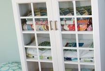 Quilt storage / by Ann Spenrath