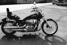 Honda Shadow Spirit / my first motorcycle