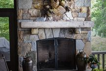 Fireplace Mantel Decor / Exquisite Nature-Inspired Sculptures from Asheville, NC Artist Matt Tommey for the Fireplace, Wall, Hearth and Pedestal.