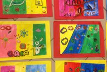 Progetto arte 2013/2014 / Lavori liberamente ispirati da Paul Klee, creati da bambini di quinta elementare