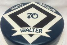 Happy Birthday 70th Cake/ 70. Geburtstagstorten