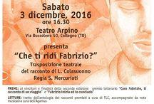 3 dicembre 2016 Teatro Arpino  PREMIAZIONE seconda edizione premio letterario