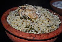 Biryani Recipes / Biriyani Recipes, Vegetable Biryani, Chicken Biryani, Mutton Biryani, Prawn Biryani, Kuska/Kushka
