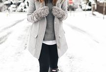 Cosy outfits
