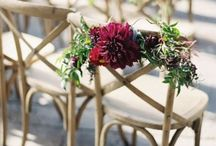 ✷ Wedding Flower Decor Ideas / Every wedding is filled with flowers. Here we're gathering inspiration to make your wedding flower decor top notch!