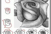 Tegning, kropp osv