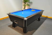 English Pool Tables / We stock the finest quality English pool tables from all of the best manufacturers in the world, including (but not limited to) the very best based in the UK.