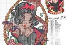 blanche neige pin up