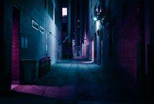 NIGHT NEON CITY 80's